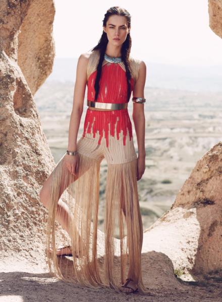 Патрисия Гардигайло для Vogue Turkey