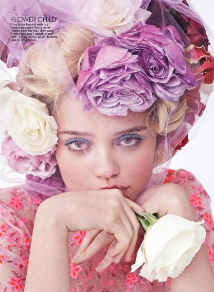 Скай Феррейра для Teen Vogue