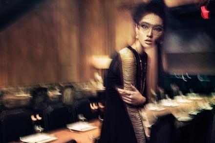 Модель Бонни Чен для журнала Yue
