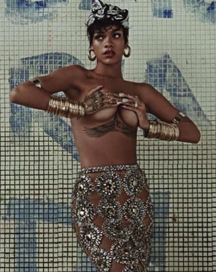 Рианна для Vogue Brazil