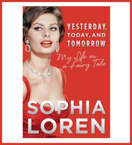 Софи Лорен выпустит мемуары