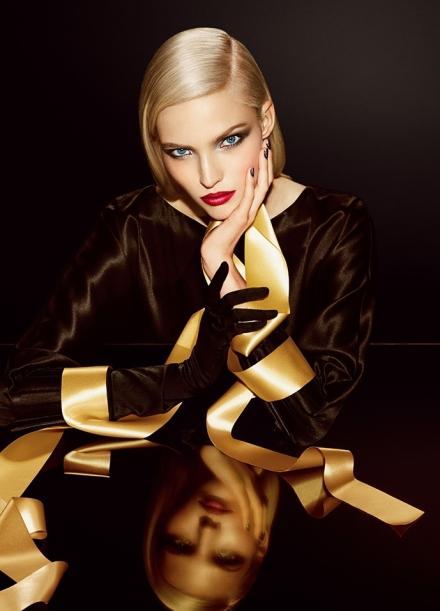 Саша Лусс представляет коллекцию макияжа Dior
