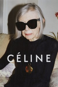 80-летняя Джоан Дидион стала лицом рекламной кампании Celine