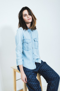 Lamoda denim look-book