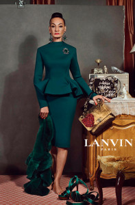 82-летняя Жаклин Мердок в рекламной кампании Lanvin